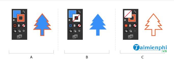 Cách tô màu và thay đổi màu trong Adobe Illustrator 9