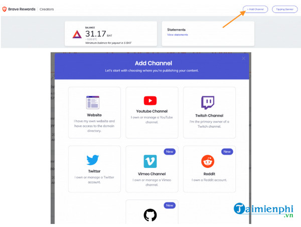 Easy money-making tools with brave browser