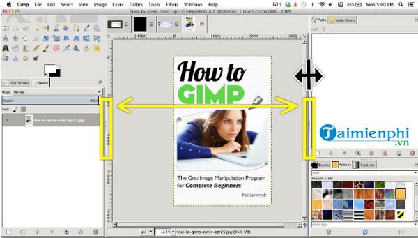Cách sửa lỗi khi sử dụng GIMP