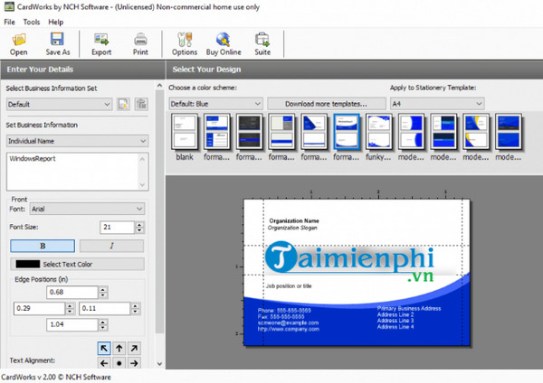 Top phần mềm thiết kế card visit, danh thiếp miễn phí
