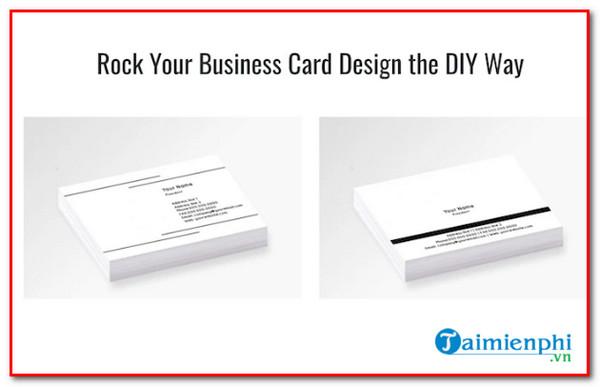 website design best business card