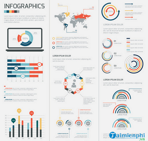 Tải mẫu Infographic miễn phí, Templates Infographic