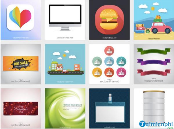 35 website cho tải ảnh Vector miễn phí