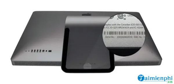 Cách check Serial Macbook, xem hạn bảo hành, ngày sản xuất