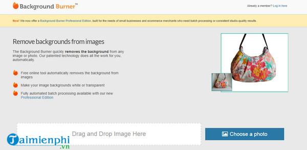 Top website xóa phông ảnh trực tuyến