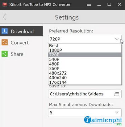 Tách nhạc, chuyển đổi video YouTube sang MP3 hàng loạt 7