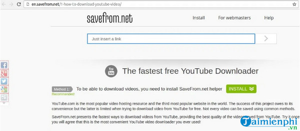 Download videos and youtube music from your phone