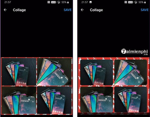 Top ứng dụng ghép ảnh cho Android tốt nhất