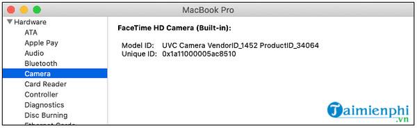 Cách sửa lỗi Camera trên Macbook đơn giản