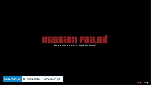 Cách bỏ qua nhiệm vụ trong GTA 5