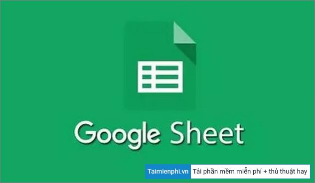 danh sach phim tat google sheets tren macos