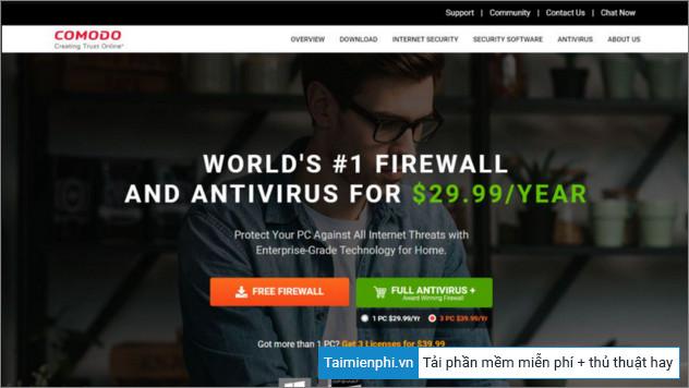 Top ứng dụng tường lửa (Firewall) tốt nhất 2021 (miễn phí và trả phí)