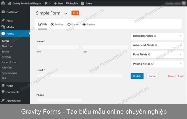 tao form online