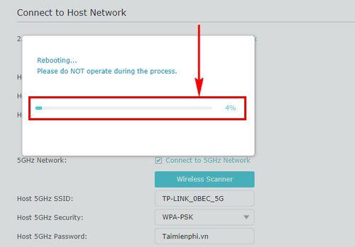 Cách đổi mật khẩu wifi RE200