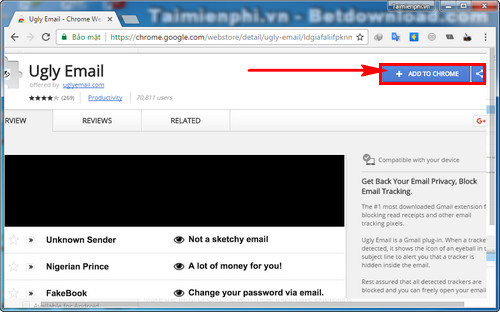 cach ngan chan theo doi email tren google chrome