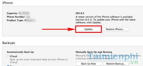 Sửa iPhone lỗi 4013 khi Restore, iTunes không nhận iPhone