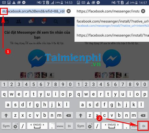 Cách đọc tin nhắn Facebook không cần cài Facebook Messenger