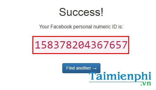 Cách lấy ID Fanpage Facebook 4
