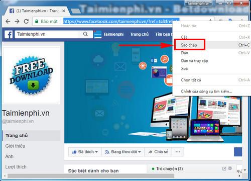 cach lay id fanpage facebook