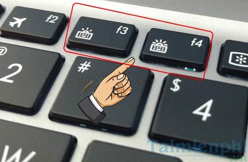 cach bat tat den ban phim laptop dell hp asus acer vaio lenovo macbook 6