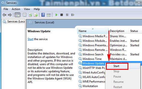 [TaiMienPhi.Vn] Hướng dẫn cách cập nhật Windows 7, Update Win 7 32bit, 64bit bản mới n