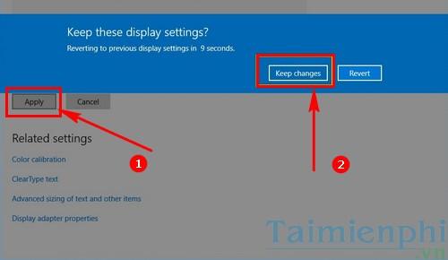 Cách chỉnh độ phân giải màn hình Windows 10 trên các màn hình khác nhau 5