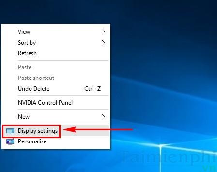Cách chỉnh độ phân giải màn hình Windows 10 trên các màn hình khác nhau