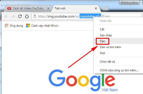 Cách lấy hình thumbnail của Youtube, ảnh đại diện video trên Youtube