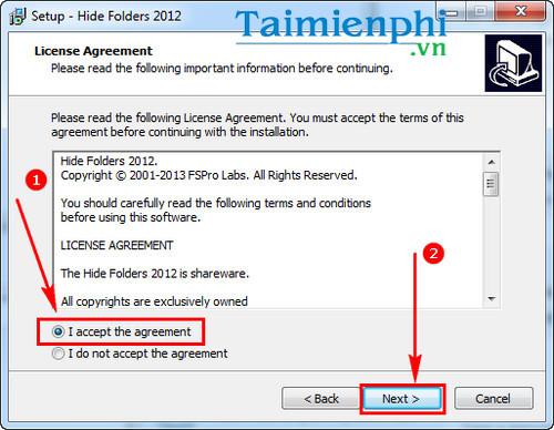 Cách sử dụng Hide Folder phần mềm khóa thư mục, ẩn, bảo mật file 2