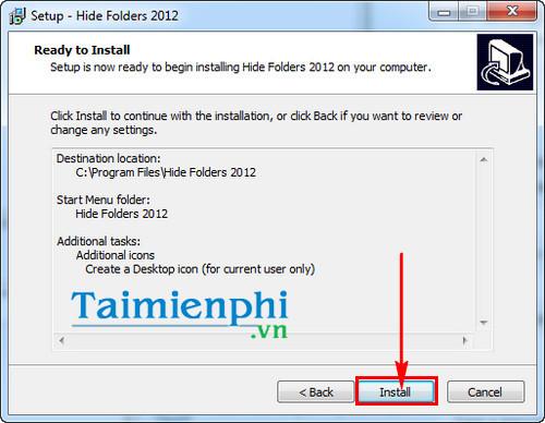 Cách sử dụng Hide Folder phần mềm khóa thư mục, ẩn, bảo mật file 3