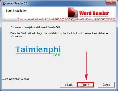 huong dan cai word reader doc file word doc docx txt de dang 4