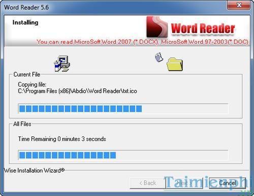 cai dat word reader doc file word doc docx txt de dang
