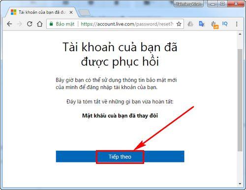 Cách lấy lại tài khoản Microsoft bằng số điện thoại