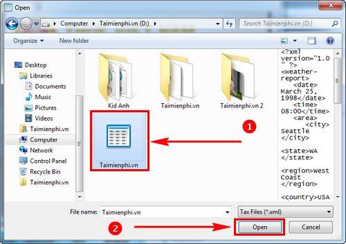 Cách mở file .xml, mở bằng phần mềm nào 3