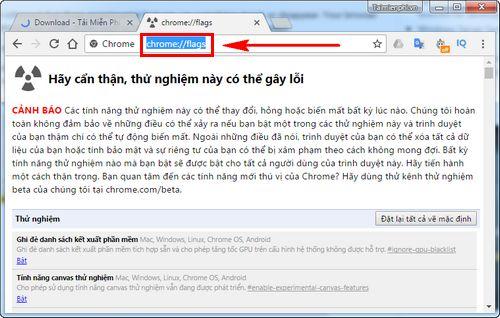 cach mo menu setting cua google chrome