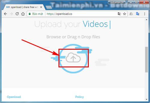 Cách tạo tài khoản Openload 5