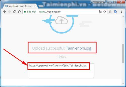 Cách tạo tài khoản Openload 7