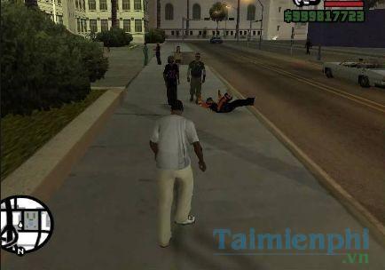 Mã GTA SAN, Lệnh game Cướp đường phố GTA San Andreas Full 2