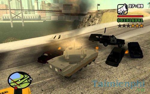 Mã GTA SAN, Lệnh game Cướp đường phố GTA San Andreas Full 3