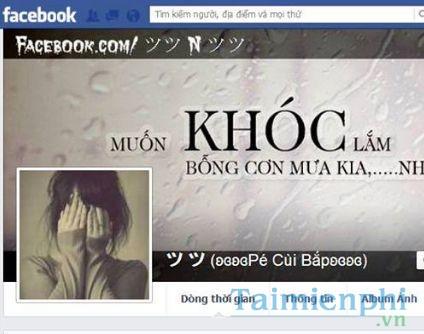 nhung ten facebook hay nhat buon vui y nghia