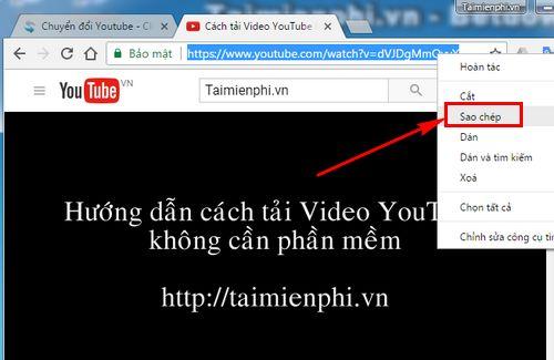 Tải Nhạc Từ Youtube Về Máy Tính Không Dùng Phần Mềm