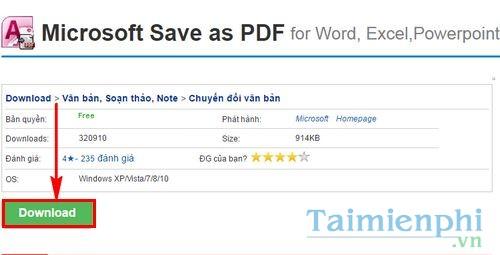 Cách chuyển file Word sang PDF trong Word 2007 0