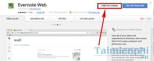 cach su dung evernote online quan ly ghi chu