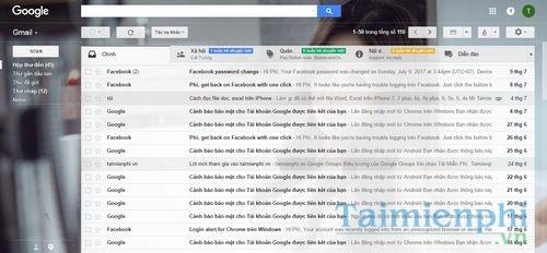 hop thu gmail cach mo nhan gui mail trong gmail 3