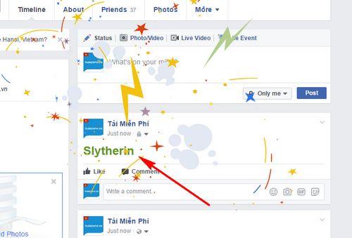 Cách sử dụng tính năng Harry Potter trên Facebook
