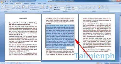 Cách tạo đường viền cho một đoạn Word bất kỳ 5