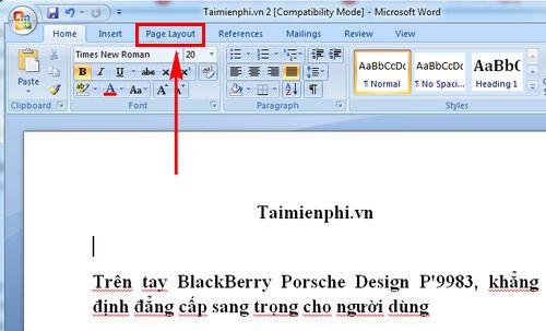 cach tao vien cho mot trang word tao border cho 1 trang van ban
