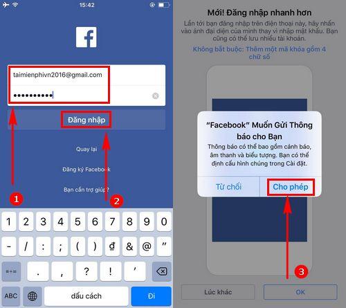 Cách cài Facebook trên iPhone 7, 6s, 6, 5s, 5, 4