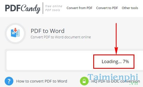 How to convert pdf to word with pdf candy 5