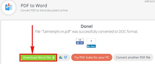How to convert pdf to word with pdf candy 6